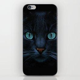 eyes of blue iPhone Skin