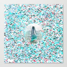 Surfin Canvas Print