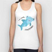 shark Tank Tops featuring Shark by Michelle McCammon