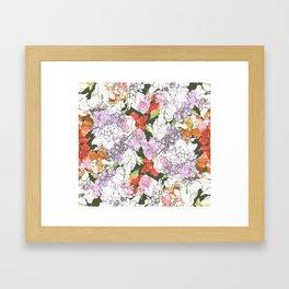 ecstatique Framed Art Print