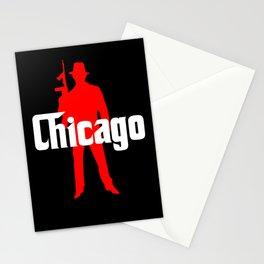 Chicago mafia Stationery Cards