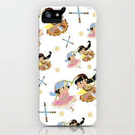 Navratri Pattern iPhone Case