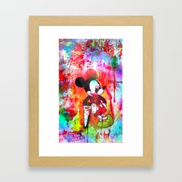 A Dream Is A Wish Your Heart Makes Framed Art Print