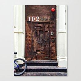 DOOR 102 Canvas Print