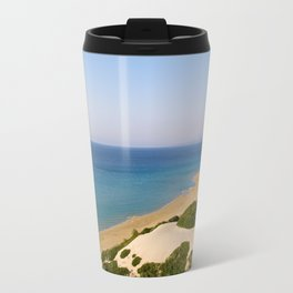 Golden Beach in Cyprus Travel Mug