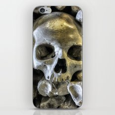 Bone Head iPhone Skin