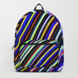 Wild Wavy Lines VIII Backpack