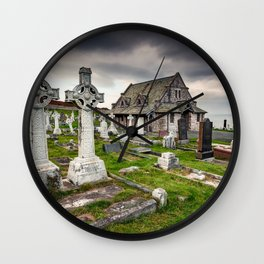 Saint Tudno Llandudno Wall Clock
