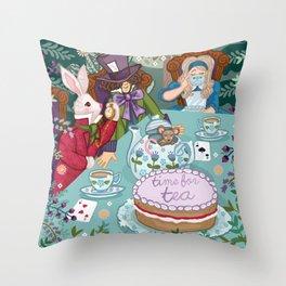 Time For Tea Throw Pillow