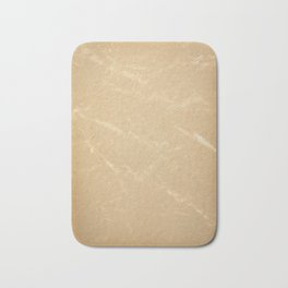 Yellowed page of paper Bath Mat