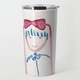 Smile, child. Travel Mug