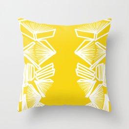 Bookworm - Marigold Throw Pillow