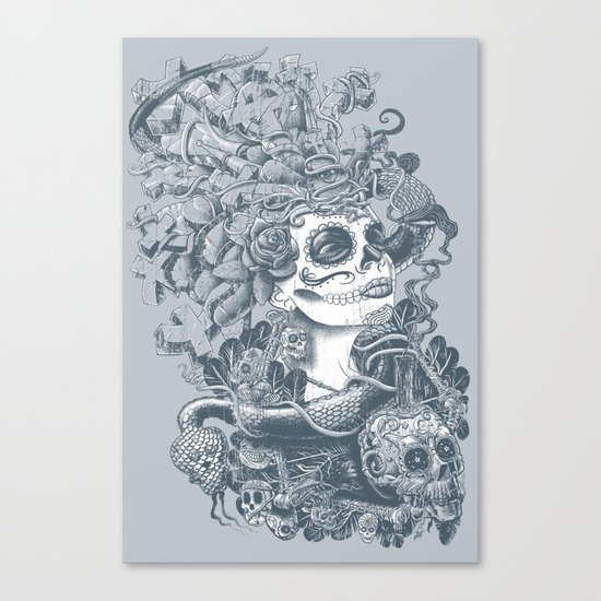 Do of the Dead Canvas Print