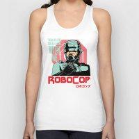 robocop Tank Tops featuring Robocop  by Buby87