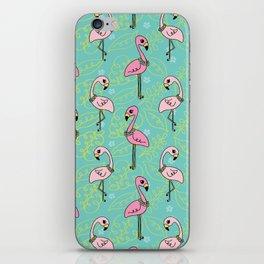 Flamingo Bay iPhone Skin