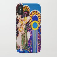 klimt iPhone & iPod Cases featuring African Klimt by Morgan Fay