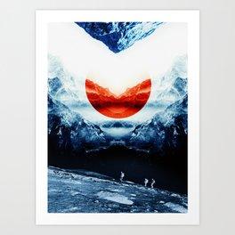 mission blue Art Print
