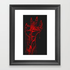DeathCross Framed Art Print