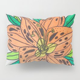 Tiger lily Pillow Sham