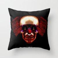 hocus pocus Throw Pillows featuring Hocus Pocus by Lazy Bones Studios