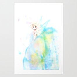 Fluttering Art Print
