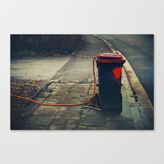 trash  Canvas Print