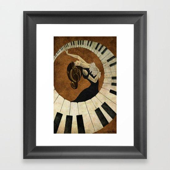 Key to the Soul Framed Art Print