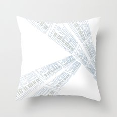 Keybord Throw Pillow
