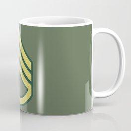 Staff Sergeant (OD Green) Coffee Mug