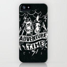 Adventure rain iPhone Case