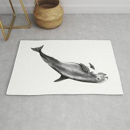 Risso's Dolphin Rug