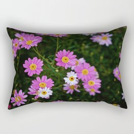 PINK CHAMOMILE Rectangular Pillow