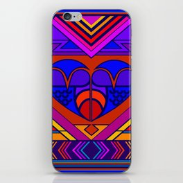 Art Deco Valentine iPhone Skin