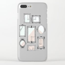 Vacant Clear iPhone Case