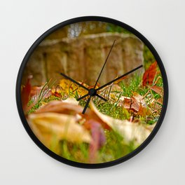 Autumn day 2016 Wall Clock