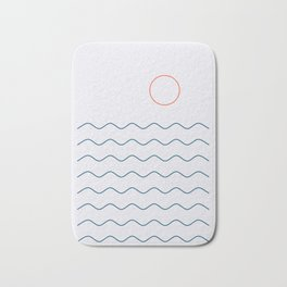 La Mer (Jour) Seascape Bath Mat