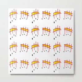 melody 3-music,melody, mark, music notation,fun, solfeggio, pleasure, rythm, dance, art Metal Print