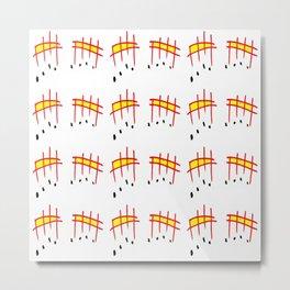 melody 3-music,melody, mark, music notation,fun, solfeggio, pleasure, rythm, dance, art Metal Print