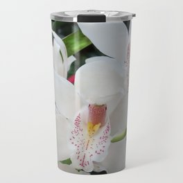 Cymbidium Orchid Travel Mug
