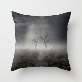 Forgotten Land Throw Pillow