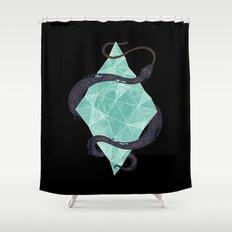Mystic Crystal Shower Curtain