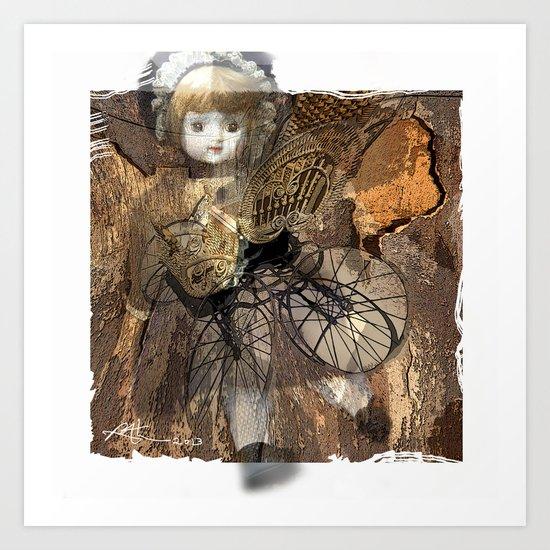 Baby Buggy Art Print