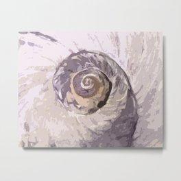 Sea Swirl II Metal Print