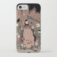 the goonies iPhone & iPod Cases featuring The Goonies by Kensausage