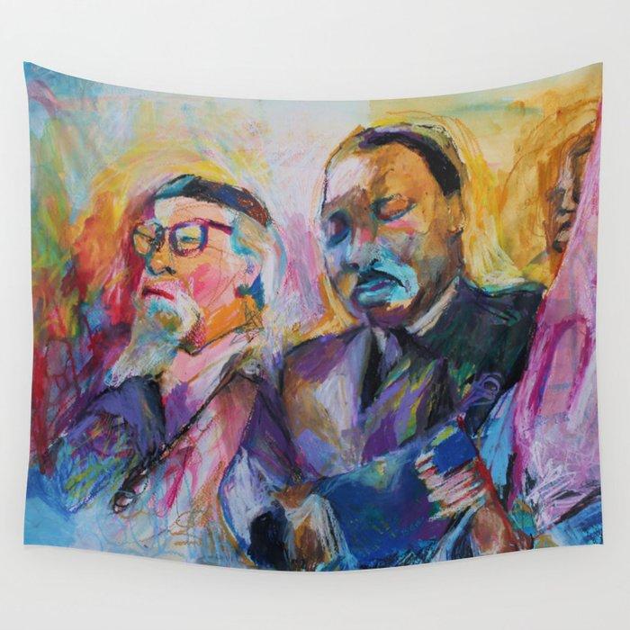 Heschel-King Wall Tapestry