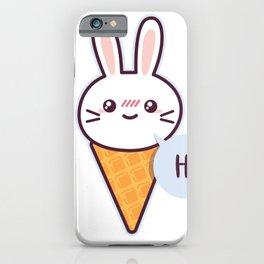 Eistuete hase iPhone Case