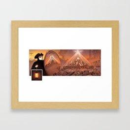 Pyramidal system Framed Art Print