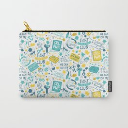 Fight like a girl sisterhood Carry-All Pouch
