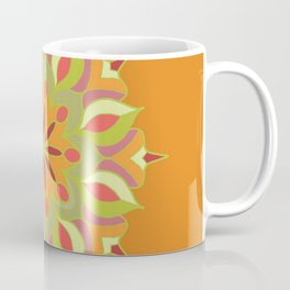 Mandala-orange Coffee Mug