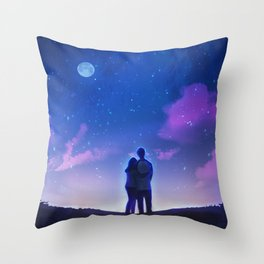 New Year, New Us Throw Pillow